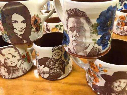 dean & martin pottery