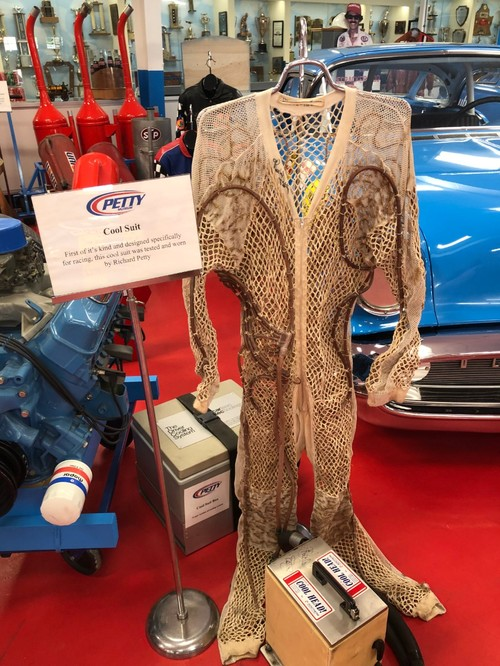 Suit at Richard Petty museum