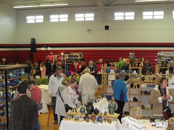 Shopping at Seagrove Pottery Festival