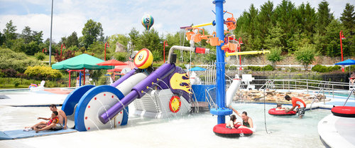 Water park at Victory Junction Camp