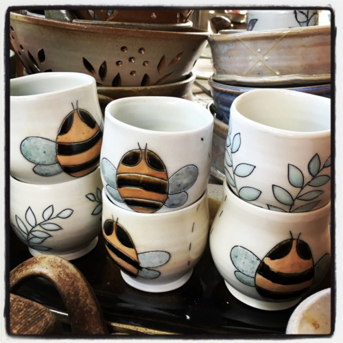 blue hen pottery
