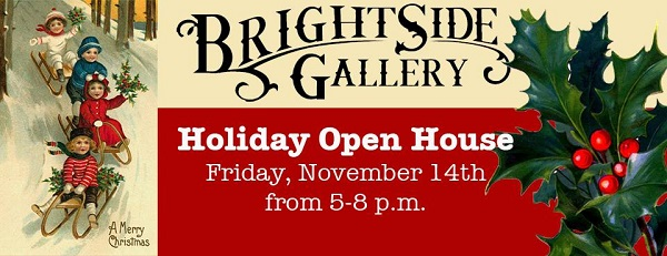 Holiday Open House at Brightside Gallery & Herb N Garden