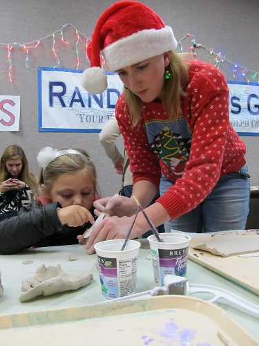 The Randolph Arts Guild Offers Holiday Clay Bells Class with NC Potter, Brooke Avery