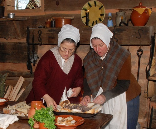 Westmoore Pottery and Mill Creek Forge Present  'Stepping Back in Time: Hearth Cookery and More'