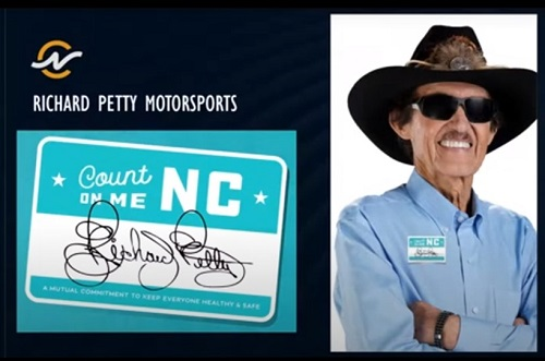 Richard Petty Motorsports Announces Partnership with Count On Me NC