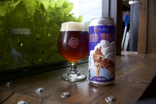 Four Saints Red Wolf Red IPA Benefits Conservation at North Carolina Zoo