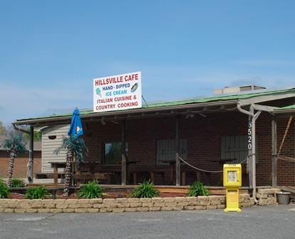 Hillsville Cafe Trinity Menu