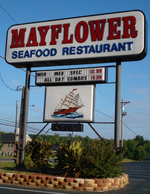 Menu Mayflower Seafood Restaurant