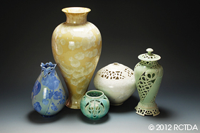 Pottery by Frank Neef