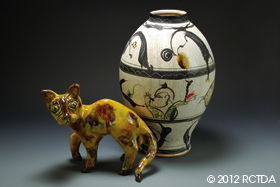 Johnston and Gentithes Art Pottery