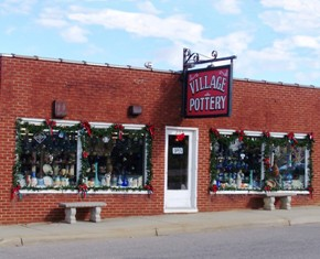 Village Pottery Marketplace of Seagrove