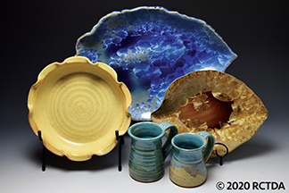 Wyndham and Brooke Haven Pottery