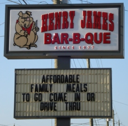 Henry James Barbeque
