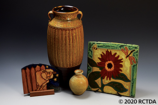 Whynot Pottery and Acacia Art Tile