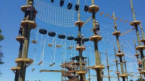 Kersey Valley High Ropes Course