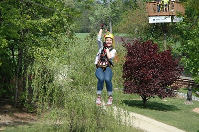 Kersey Valley Zipline