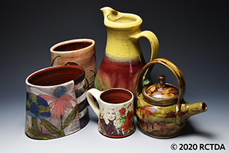 Dean and Martin Pottery