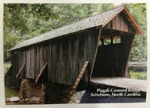 Pisgah Covered Bridge Postcard