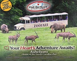 2019 Visit the Heart of NC Hotel Book
